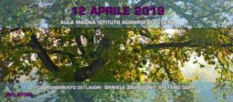UNA CINTURA FORESTALE PERIURBANA – Cesena 12 apr 2019