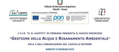 G.B. Aleotti FERRARA – 12 gennaio 2019